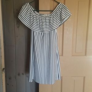 Speechless Striped Dress Small
